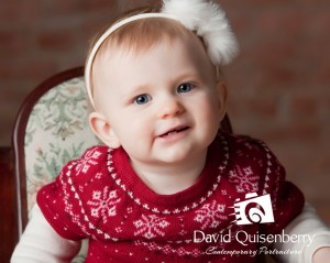Children's Christmas portraits