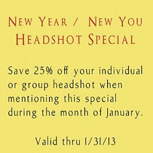 February Head Shot Special