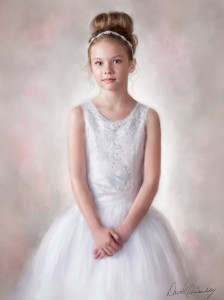 Art, Painting, First communion