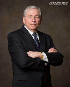 Business portrait for financial services professional
