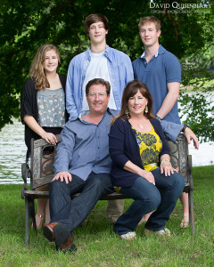 outdoor mckinney family portraits