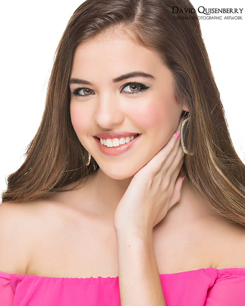 Miss Dallas Teen pageant head shot