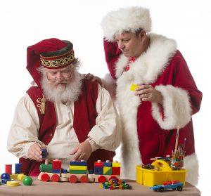 Santa Claus with David Quisenberry