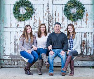 dallas holiday card photography