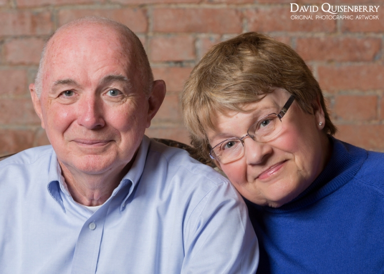 portrait of grandparents
